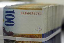 Forex – İsviçre frangı, Euro karşısında 1 ayın en yüksek seviyesinde