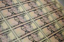 Amerikan doları iki haftanın en düşük seviyesine yakın