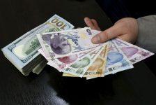 DÜZELTME-YENİLEME 1-BONO&FX-Dolar/TL artan risk iştahının desteğiyle 1 ayın en düşüğünde