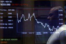 Avustralya piyasaları kapanışta düştü; S&P/ASX 200 0,61% değer kaybetti