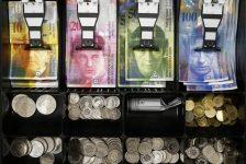 Forex – İsviçre frangı, Euro karşısında 6 haftanın en yüksek seviyesinde