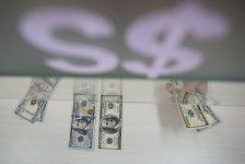 YENİLEME 1-BONO&FX-Belçika'da yaşanan patlamaların ardından küresel riskten kaçışla dolar/TL yönünü hafif yukarı çevirdi