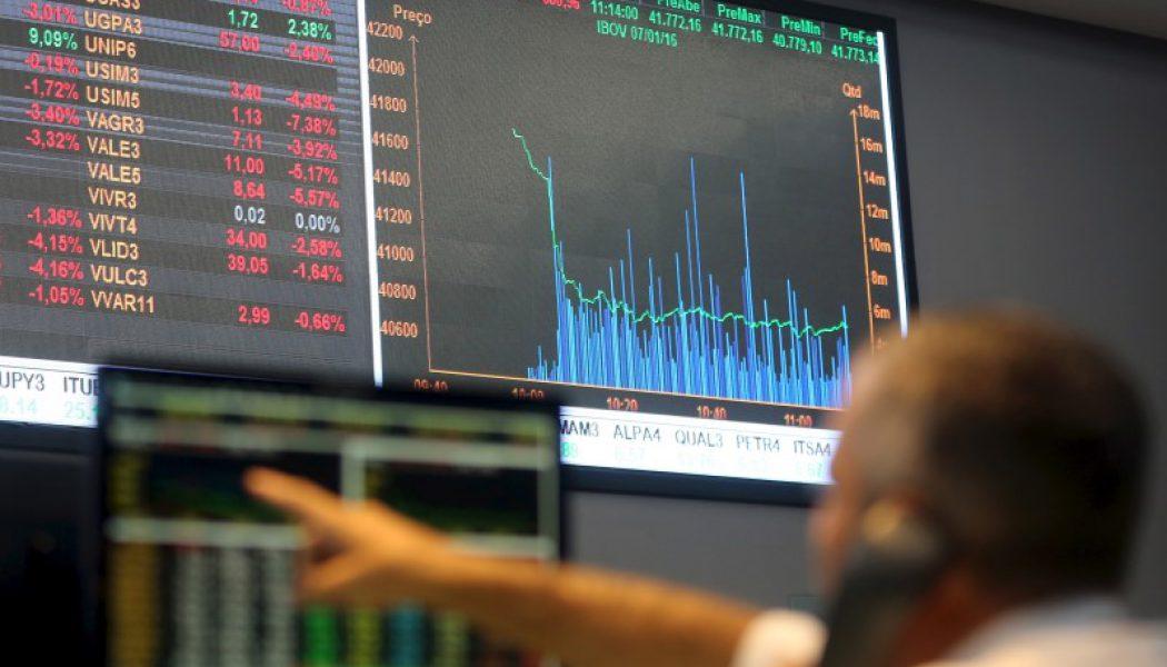Brezilya piyasaları kapanışta düştü; Bovespa 0,82% değer kaybetti