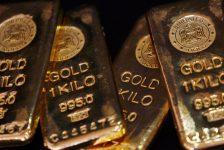 Altın vadeli işlemleri 4 haftanın en düşük seviyesinde
