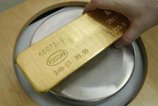 Altın vadeli işlemleri 3 haftanın en yüksek seviyesinden geriledi
