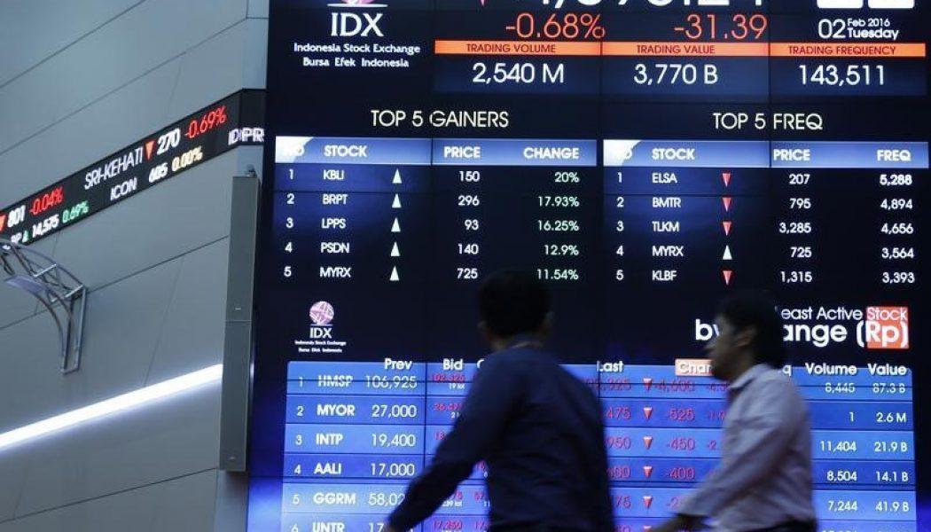 Endonezya piyasaları kapanışta düştü; IDX Composite 0,80% değer kaybetti