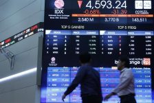 Endonezya piyasaları kapanışta düştü; IDX Composite 0,56% değer kaybetti
