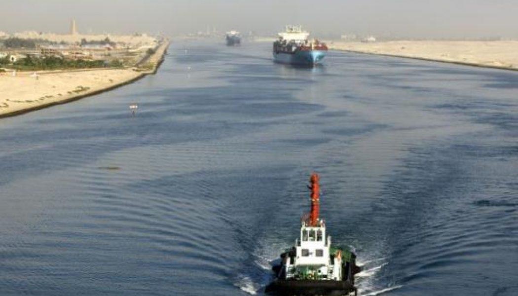 Süveyş Kanalı, Gelirini Temmuz'da 447,1 Milyon Dolara Yükseltti