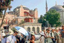 İstanbul, Yılbaşından Bu Yana 6 Milyondan Fazla Turist Ağırladı