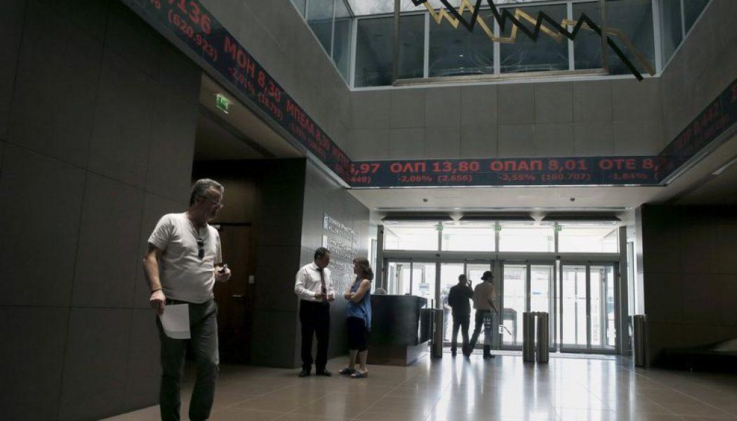 Yunanistan piyasaları kapanışta düştü; Athens General Composite 0,87% değer kaybetti